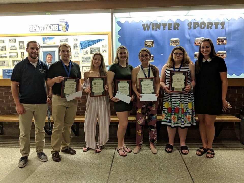 CVR Youth bursarie winners
